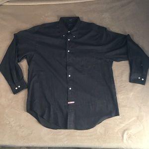 Nautica Black Button Down Shirt!